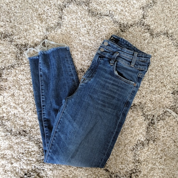 7 For All Mankind Denim - 7 For All Mankind High Rise Jeans